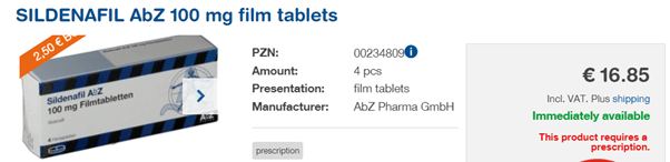 The packages containing 4 tablets, 12 and also 24 tablets, depending on the use